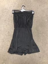 GIRLS EX STORE BLACK PLAYSUIT